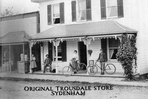 Trousdale's Home Hardware - Original Trousdale Store - Sydenham